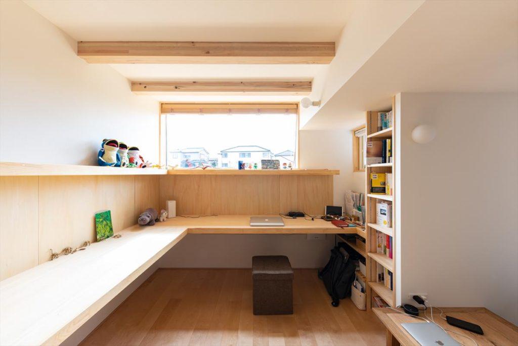 新潟市西区 E邸ワークスペース(2019年竣工)